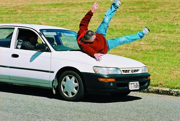 araba çarpması