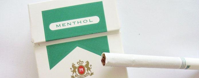 mentollü sigara içmek