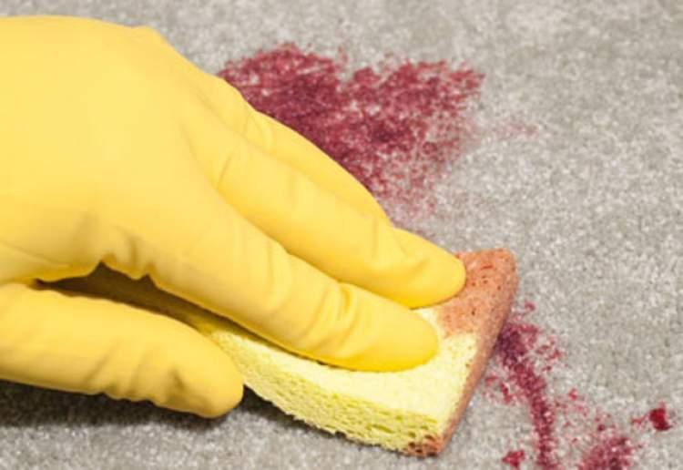 adet kanı temizlemek