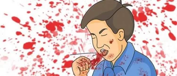 ağızdan kan gelmesi
