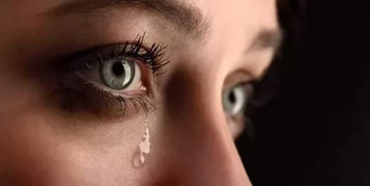 ağladığını görmek