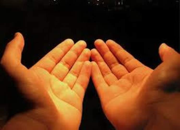 allaha dua ettiğini görmek