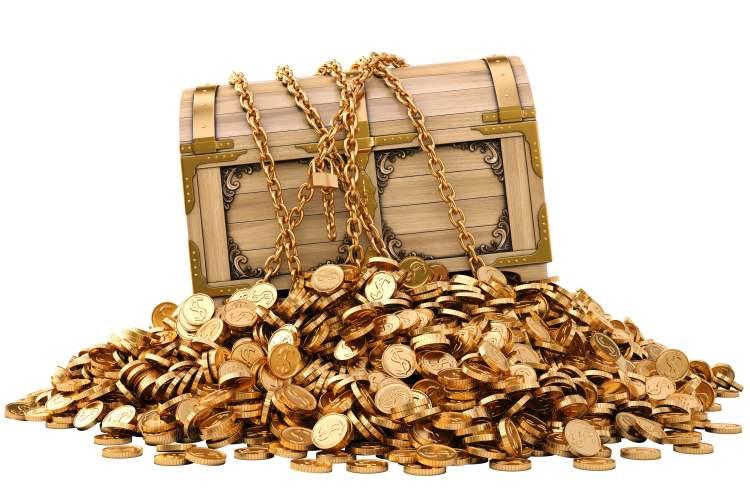 altın hazine bulmak