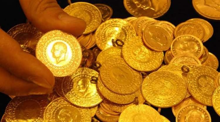 altın paralar görmek