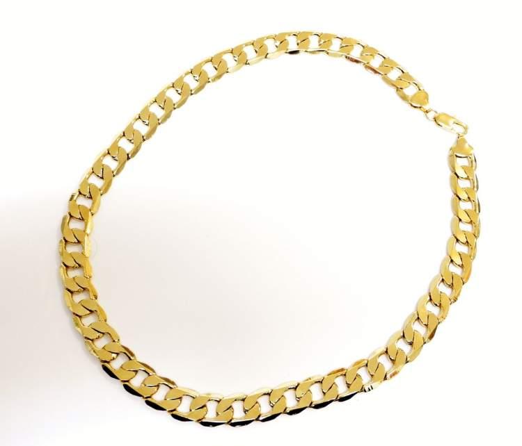 altın zincir kolye görmek