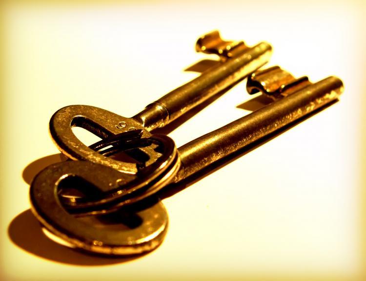 anahtar sakladığını görmek