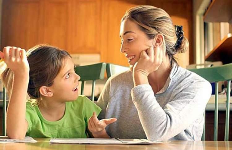 anne ile konuşmak
