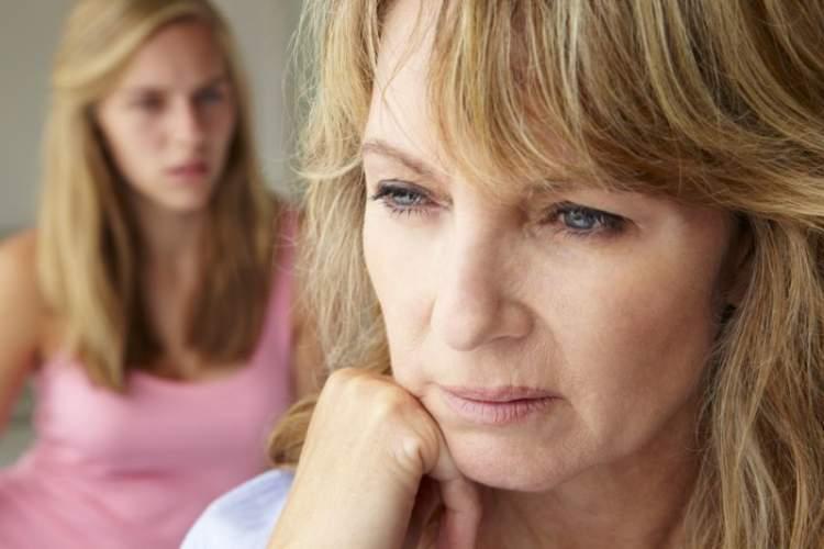anne ile tartışmak
