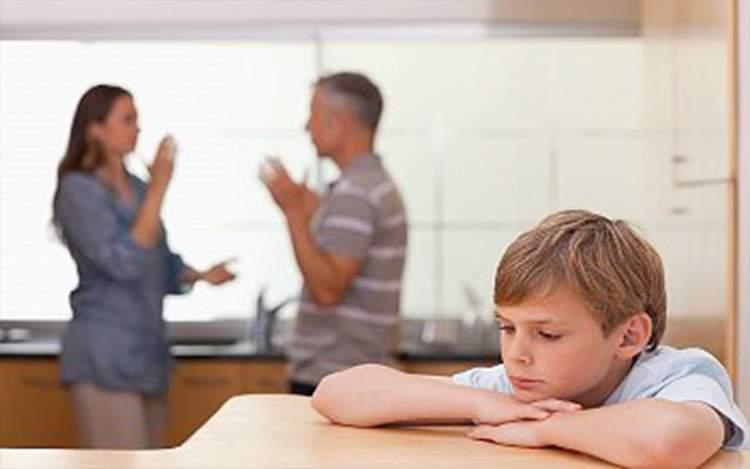 anne ve babanın boşanması