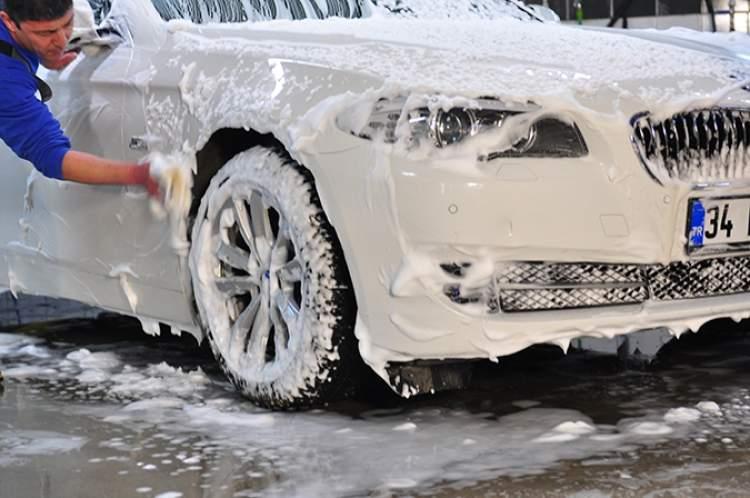araba yıkamak