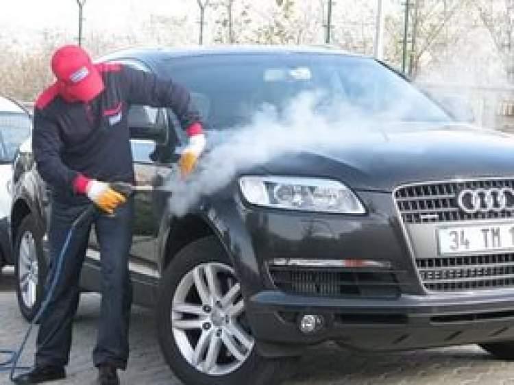 araba yıkatmak