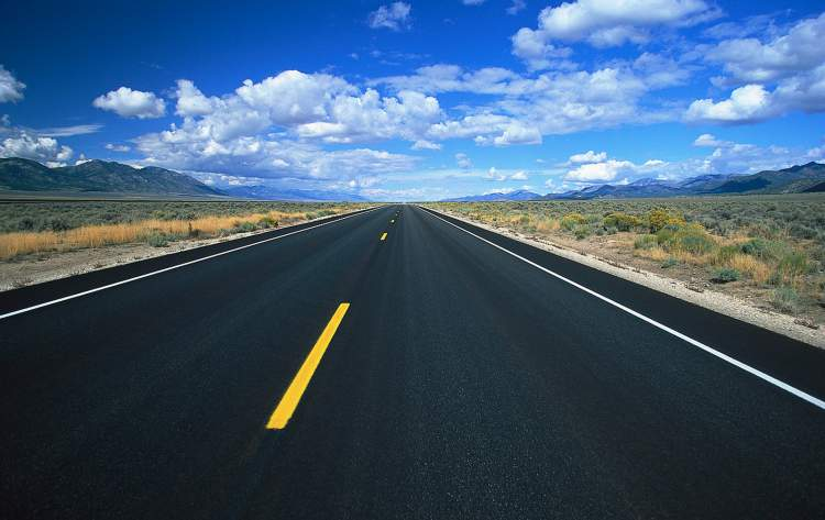 asfalt görmek