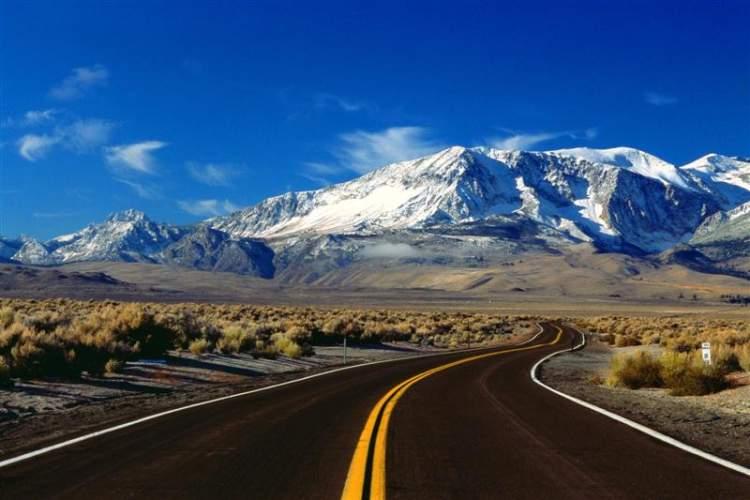 asfalt yol görmek