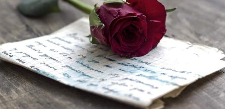 aşk mektubu almak
