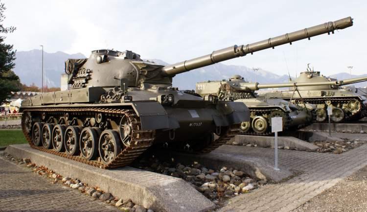 askeri tank görmek