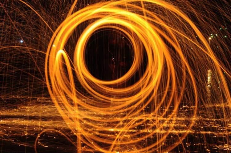 ateş topu görmek