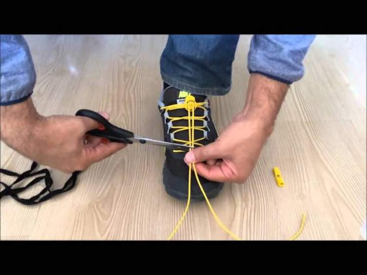ayakkabı bağcığı bağlamak
