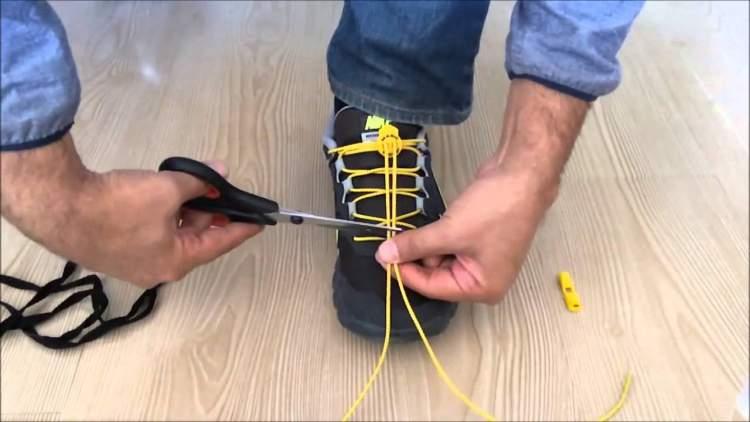 ayakkabı bağcığı görmek