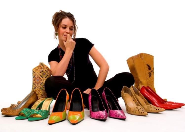 ayakkabı seçmek