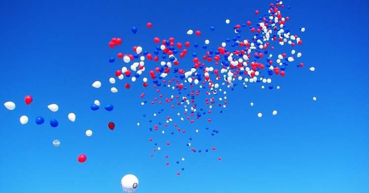 balonun uçtuğunu görmek
