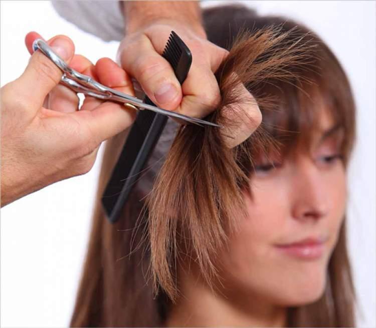 başkasının saçını kesmek