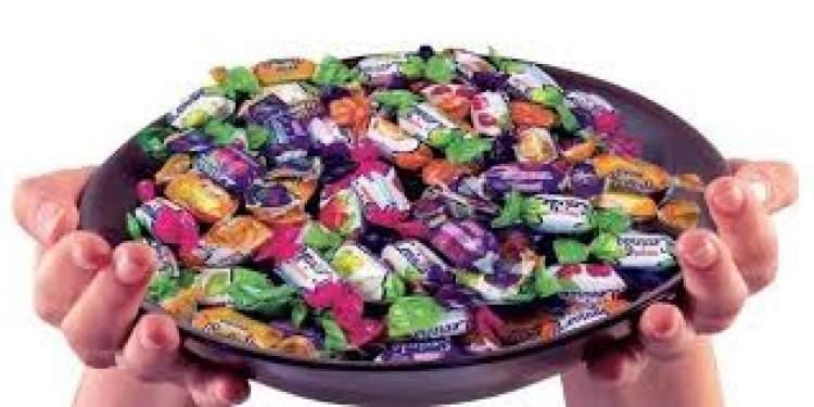 bayram şekeri yemek