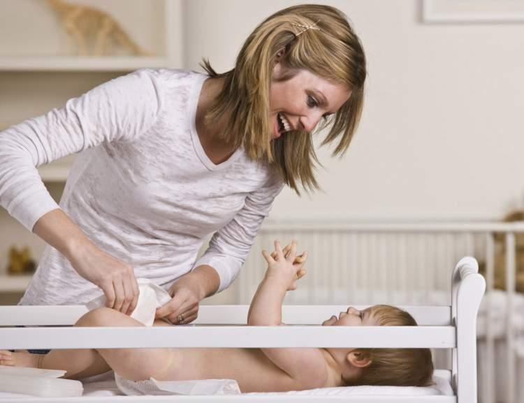 bebek altı değiştirmek