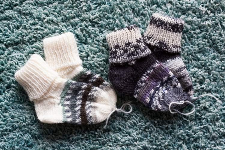 bebek çorabı görmek