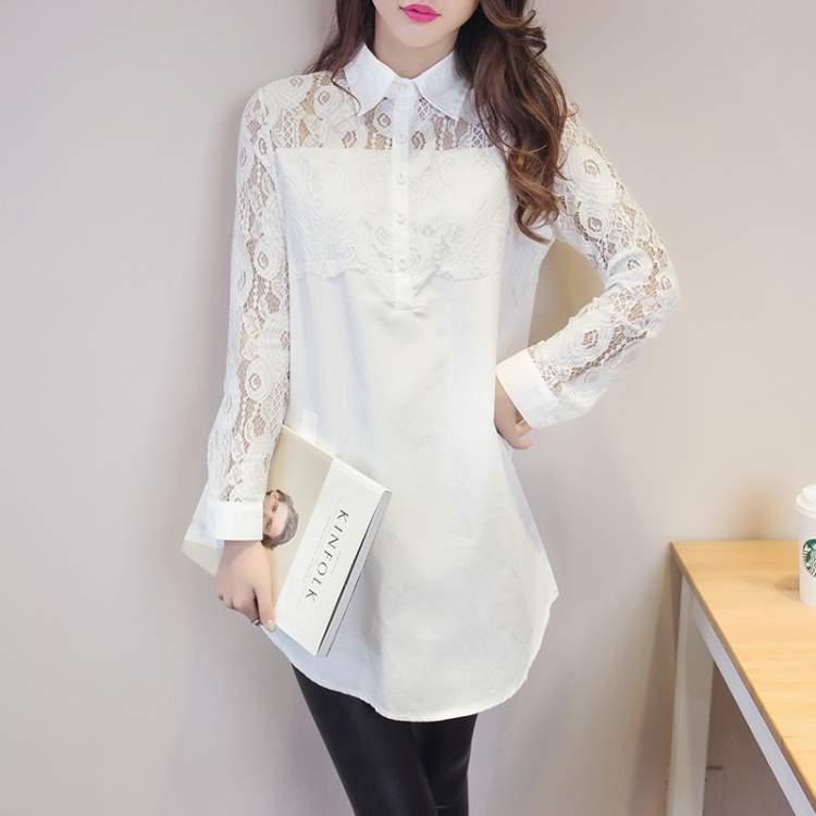 beyaz bluz giymek