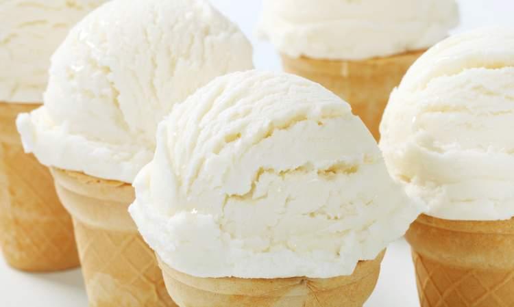 beyaz dondurma görmek