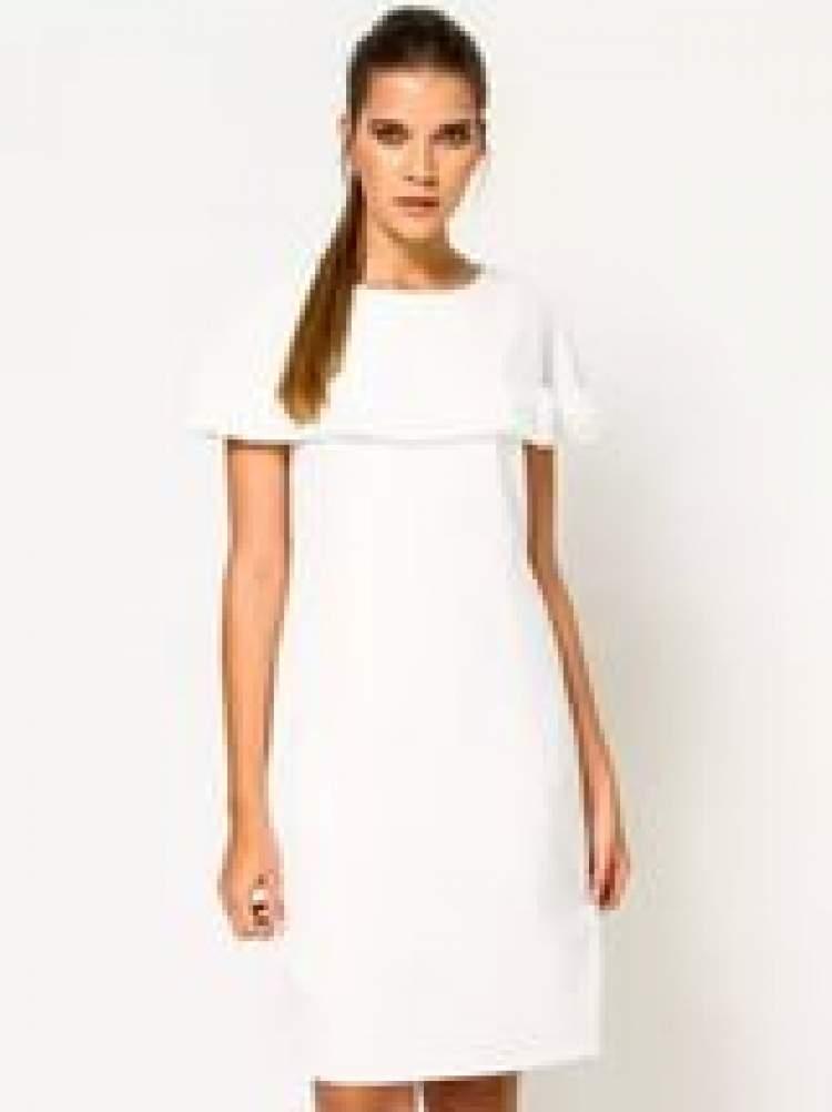 beyaz elbise görmek