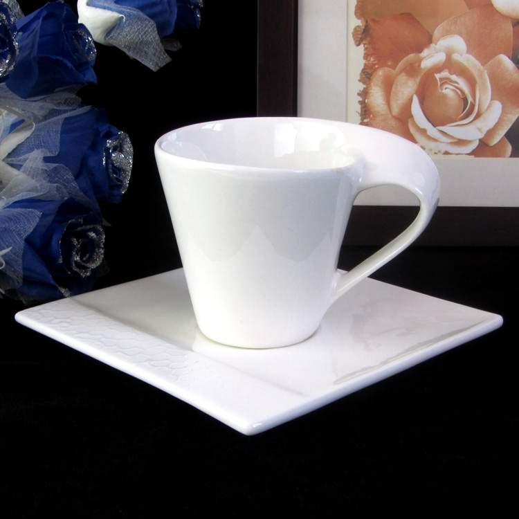 beyaz kahve fincanı görmek