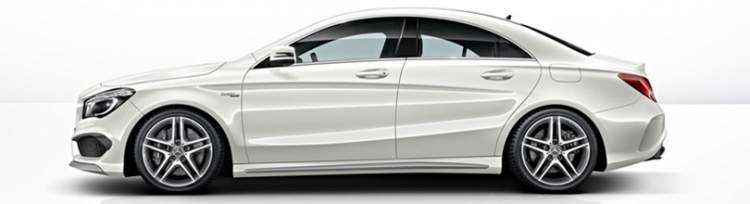 beyaz lüks araba görmek