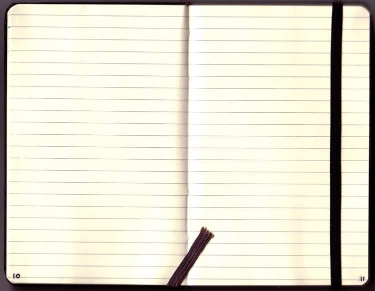 beyaz sayfa görmek