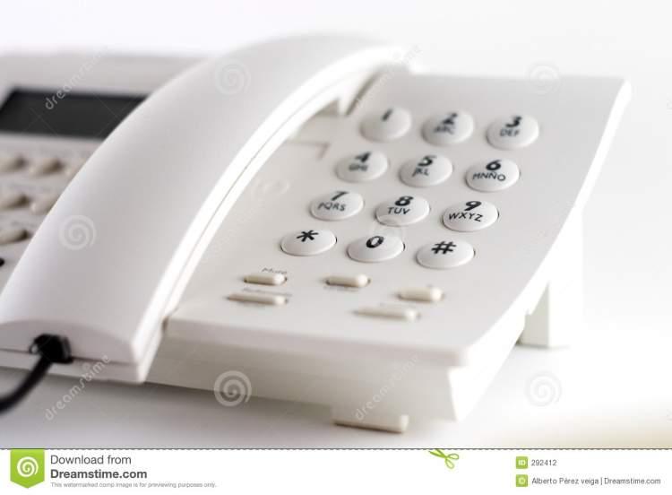 beyaz telefon görmek