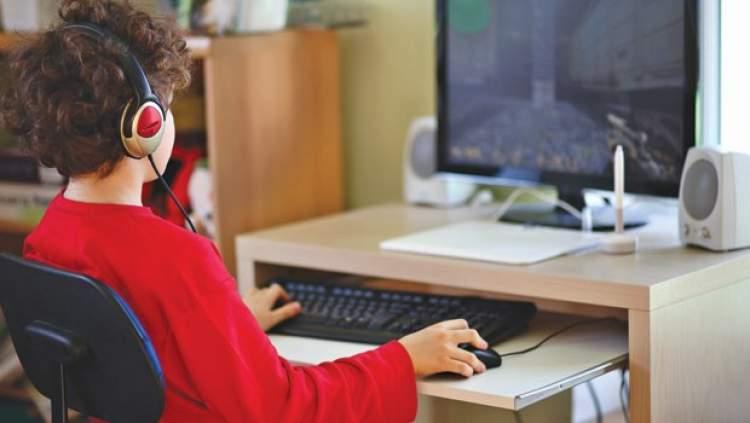 bilgisayar oynamak