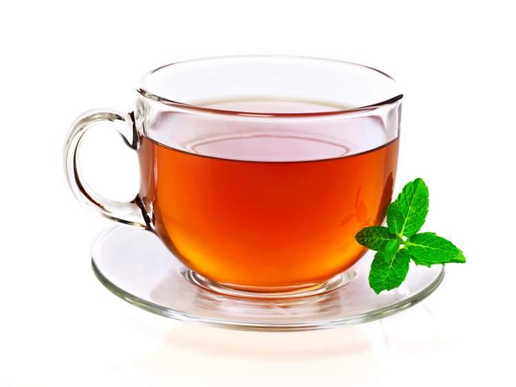 bir bardak çay görmek