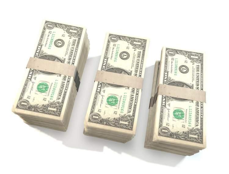 bir deste para görmek