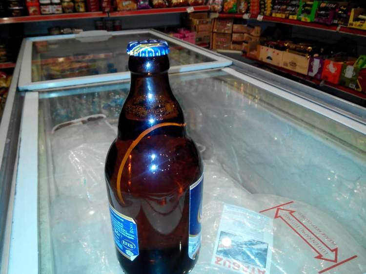 bira şişesi görmek