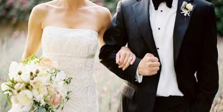 biriyle evli olduğunu görmek