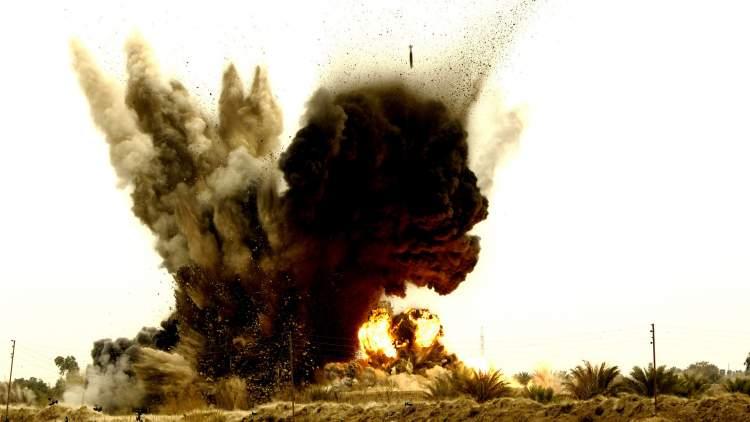 bomba patladığını görmek