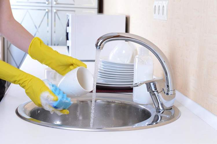 bulaşık yıkama