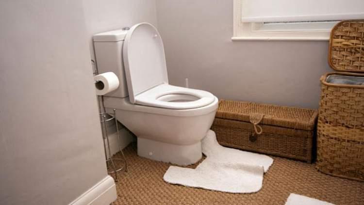 büyük tuvaletini yaptığını görmek