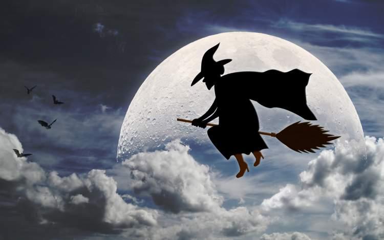 cadı süpürgesiyle uçmak
