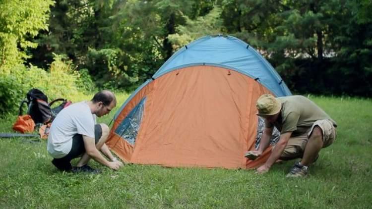 çadır kurmak