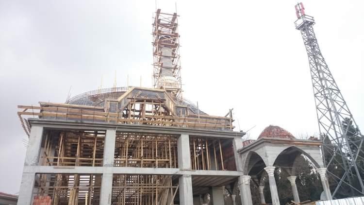 cami yapıldığını görmek
