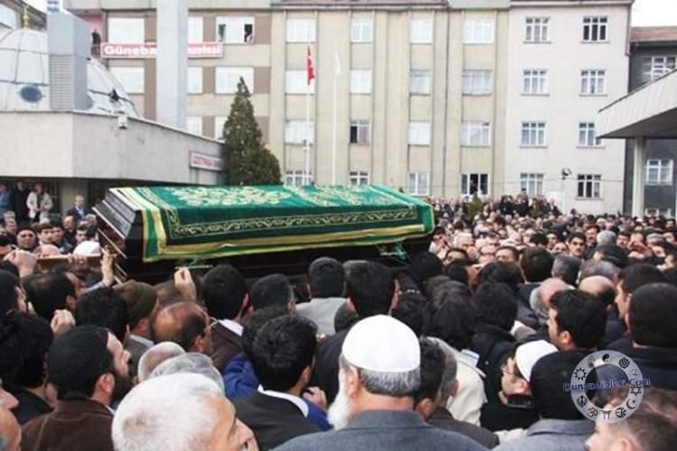 cenazeye gitmek