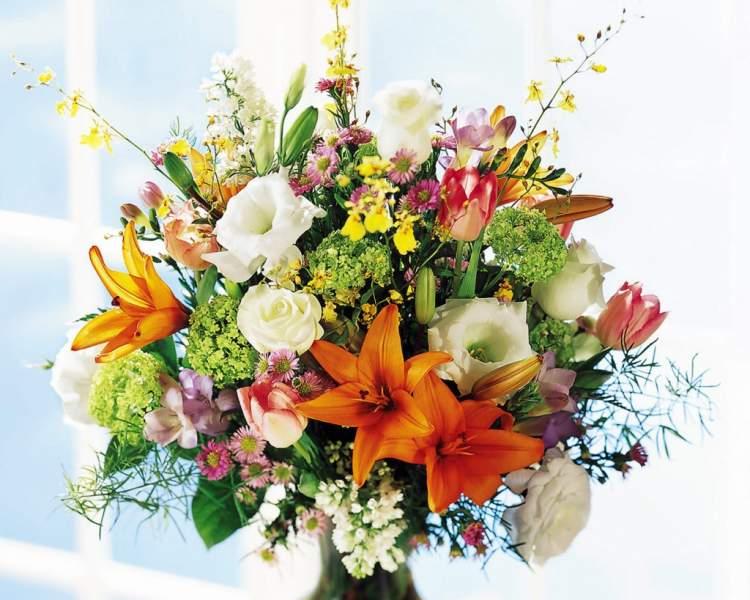 çiçek buketi görmek