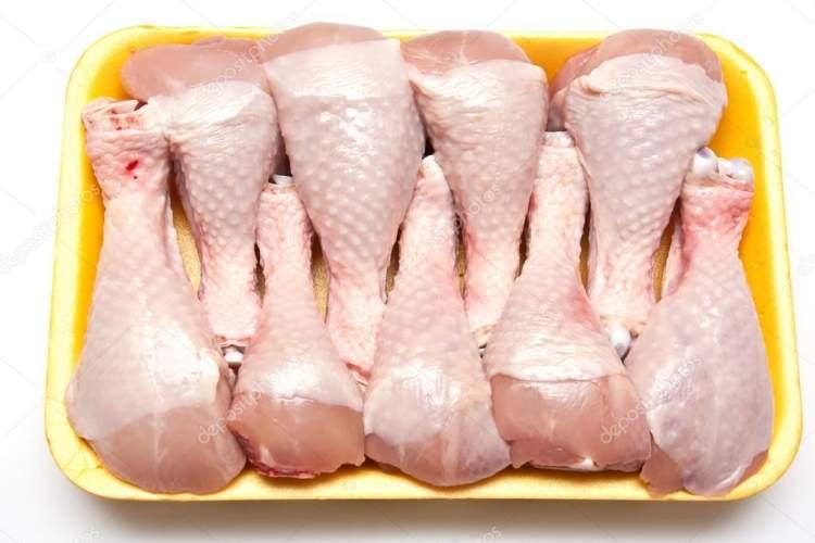 çiğ tavuk budu görmek