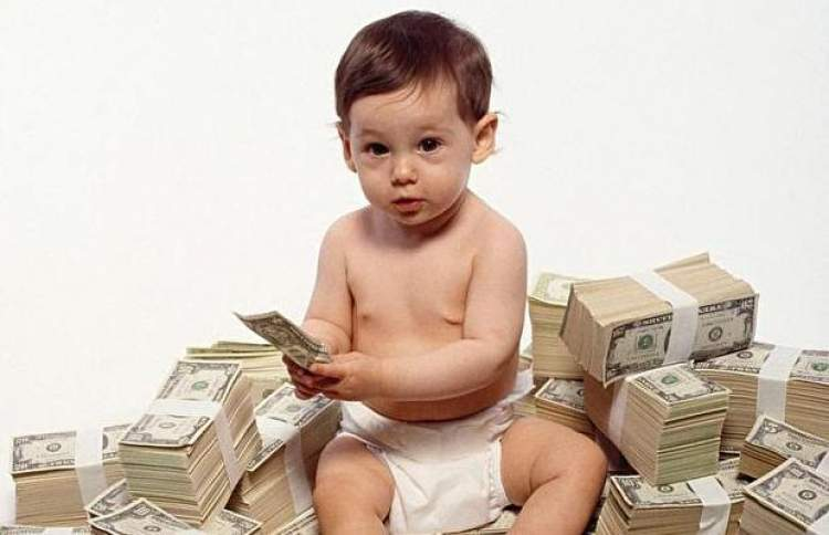 çocuğa para vermek